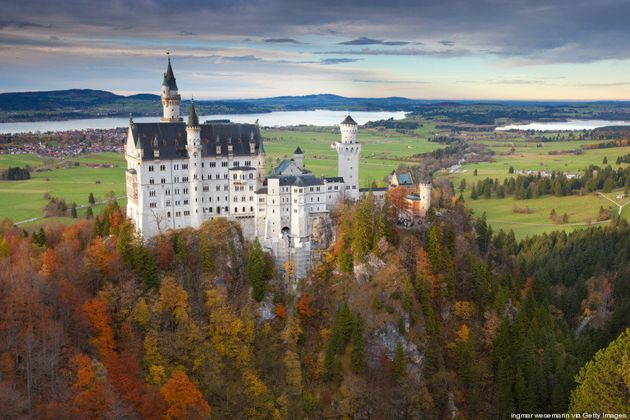 26 castillos de cuento de hadas que merece la pena visitar