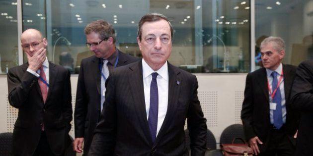 Draghi anuncia que el BCE baraja