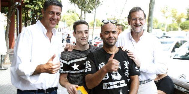 Rajoy dice ser la garantía contra el secesionismo frente a un PSOE