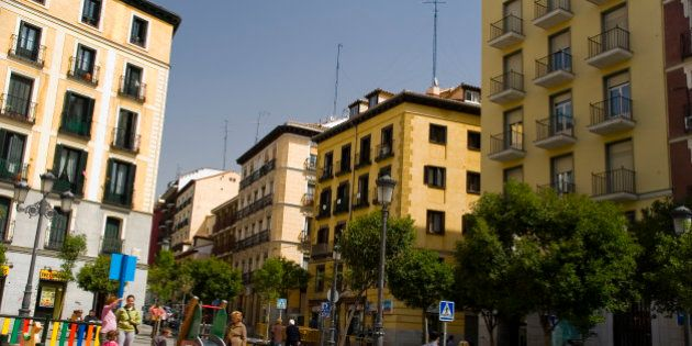 Los vecinos del barrio de Lavapiés piden ayuda al ayuntamiento por una plaga de