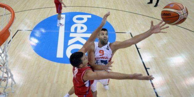 España debuta en el Eurobasket con una derrota ante Serbia