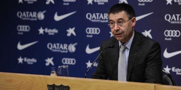 El presidente del Barcelona, sobre la sanción de la FIFA: