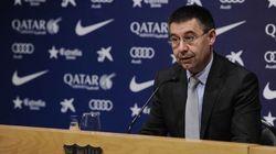 El presidente del Barça, sobre la sanción: