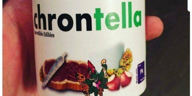 Chrontella: la Nutella de marihuana canadiense que el mundo