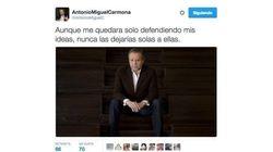 Carmona publica este mensaje... y Twitter se llena de