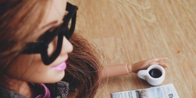 Una cuenta de Barbie 'hipster' para ridiculizar nuestros hábitos en las