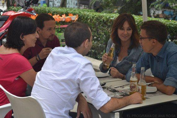Pablo Iglesias, Albert Rivera, Pedro Sánchez y Mariano Rajoy se 'desnudan' ante Ana Rosa