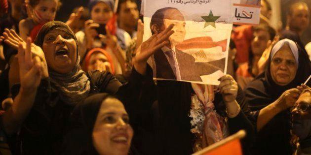 Al Sisi gana las elecciones egipcias con más del 95% de los votos según los primeros