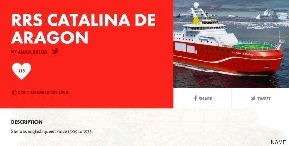 ForoCoches vuelve a la carga: quieren que el buque inglés se llame