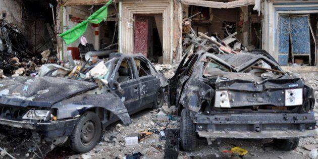 Un centenar de muertos en un día de atentados en cadena en