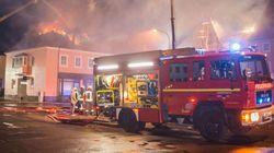 Asco: vecinos 'festejan' el incendio intencionado de un albergue de refugiados