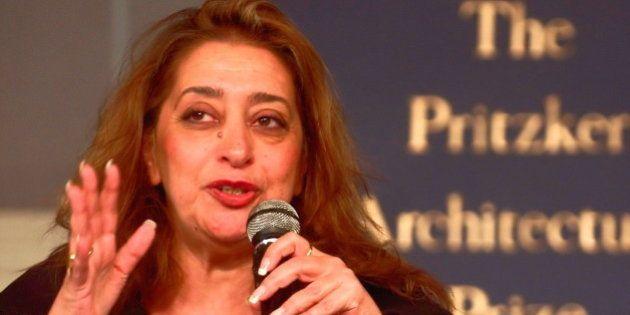 Muere la arquitecta Zaha Hadid a los 65
