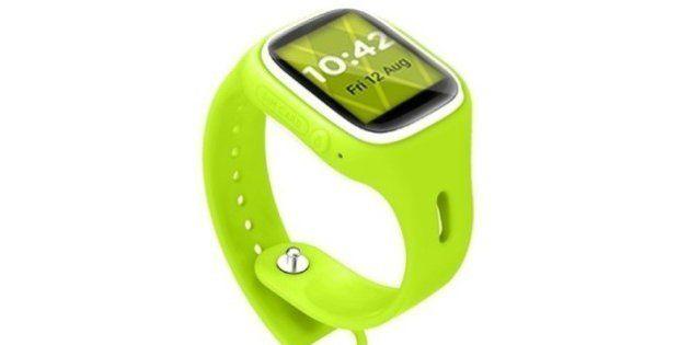 Lanzan un reloj infantil con GPS para que los padres sepan dónde están sus