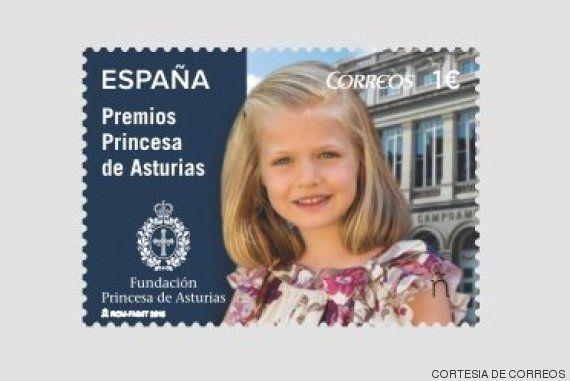 La princesa Leonor tiene sello