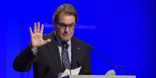 Mas pide por carta a Rajoy
