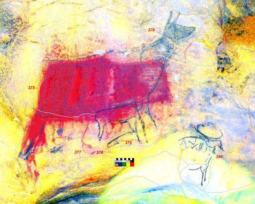 Descubren 450 pinturas rupestres 'nuevas' del Paleolítico en la Cueva del