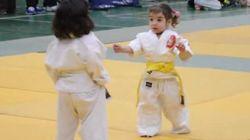 Este 'pequeño' combate de judo se ha compartido 160.000 veces