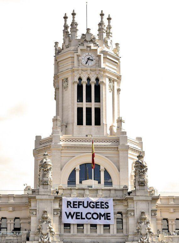 'Refugees welcome', la bienvenida de Madrid a los refugiados