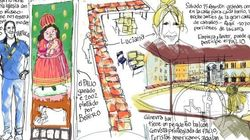 Palio di Siena dibujado: una historia