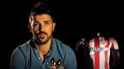 Villa se despide del Atlético con este