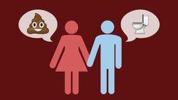 Las parejas a las que no les da vergüenza hablar sobre caca son las más