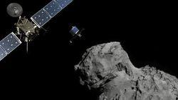El robot 'Philae' aterriza con éxito en el cometa
