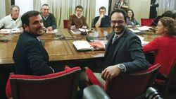 PSOE, Podemos, Compromís e IU continuarán la negociación este