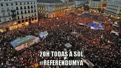 #Referendumya: A las 20, manifestaciones por la