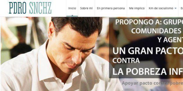 Pedro Sánchez muestra su lado más personal en su web
