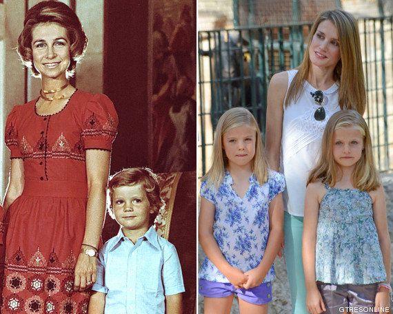 La reina Letizia Vs. la reina Sofía: así es la nueva reina y así era su