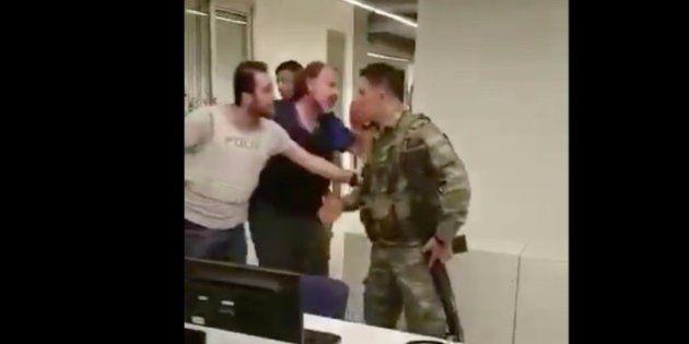 Así se vivió en la CNN el levantamiento militar de