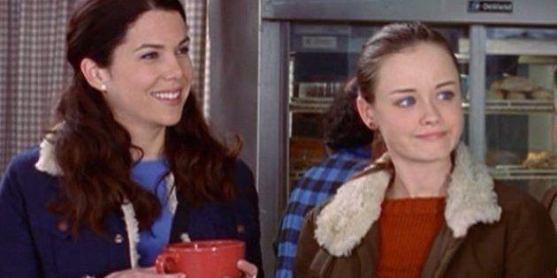 Café, cenas, besos y llamadas: 'Las chicas Gilmore' en datos