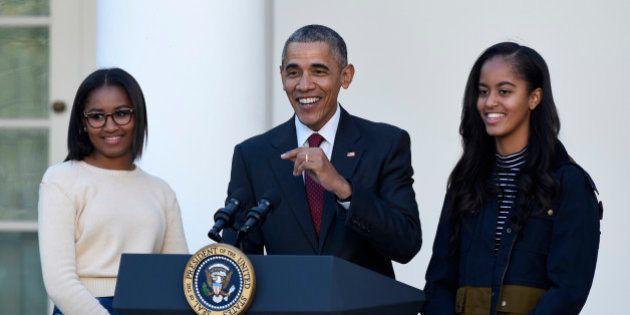Las inspiradoras palabras que Obama dedicó a sus hijas tras la victoria de