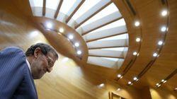 Así ha sido el primer cara a cara entre Rajoy y Chivite en el Senado