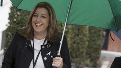 Susana Díaz 'cose' su