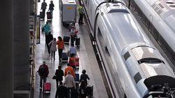 Normalidad en la circulación de los trenes AVE en