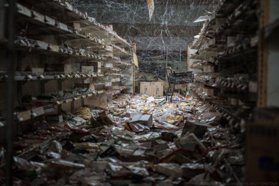 Estas impactantes fotografías muestran lo que queda tras un desastre