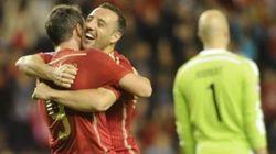 España se clasifica para la Eurocopa tras golear a