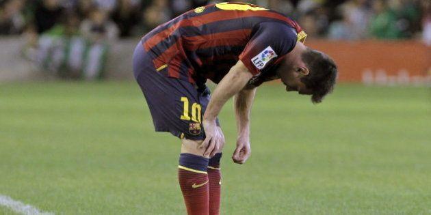 Messi, entre 6 y 8 semanas de baja por una rotura muscular en el bíceps