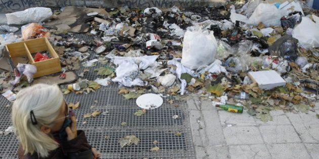 Huelga de limpieza en Madrid: Una semana entre basura y sin avances en la