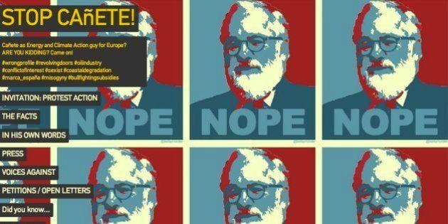 #StopCañete: La campaña para derribar al candidato a comisario en la que no está el