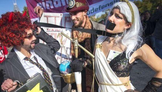 Centroeuropa se echa a la calle contra el TTIP