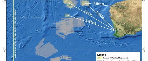 Un barco chino detecta por segunda vez una posible señal de la caja negra del avión