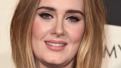 ¡Fuera 'eyeliner'! Adele publica dos fotos suyas sin