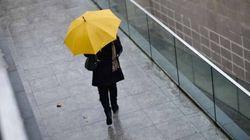 El 12 de octubre, con alerta por lluvia en cuatro