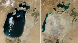 Así ha desaparecido el Mar de Aral en los últimos 50