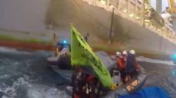 Defensa: la Armada evitó que Greenpeace cometiera