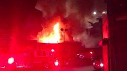 Al menos nueve muertos en un incendio en una fiesta en