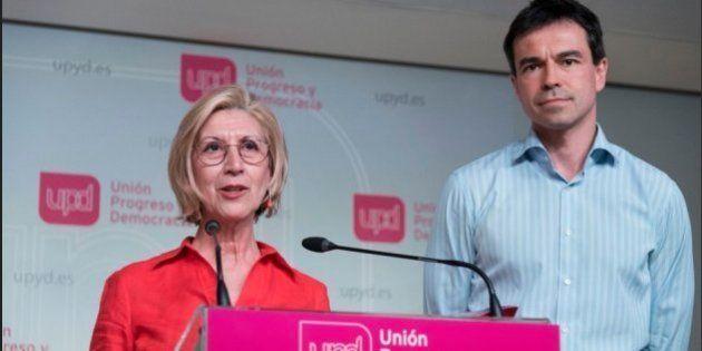 Díez y Herzog se dan de baja de UPyD y piden su