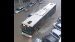 Una tromba de agua inunda varias localidades de